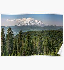 Mount Saint Helens from McClellan Overlook Poster