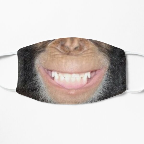 Chimp Grin Mask Mask