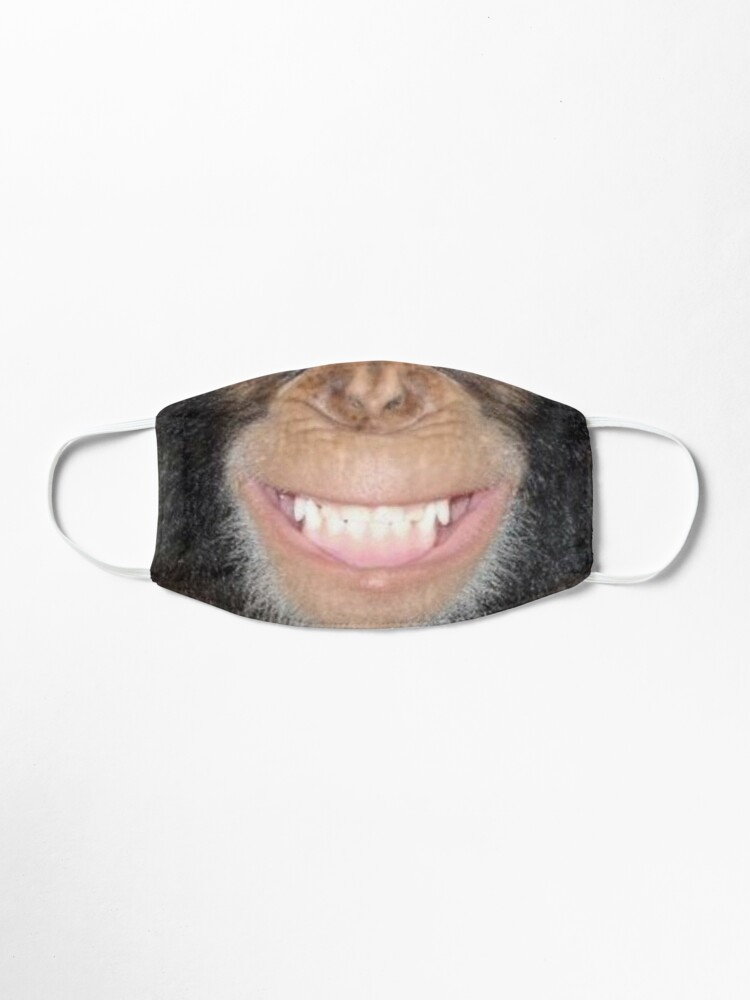 Vista alternativa de Mascarilla Chimp Grin Mask