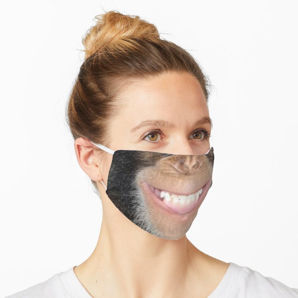 Chimp Grin Mask Mascarilla