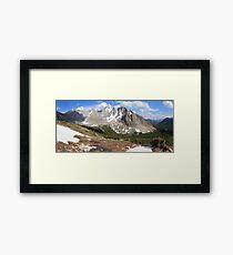 Above Highwood Pass II (panorama) Framed Print