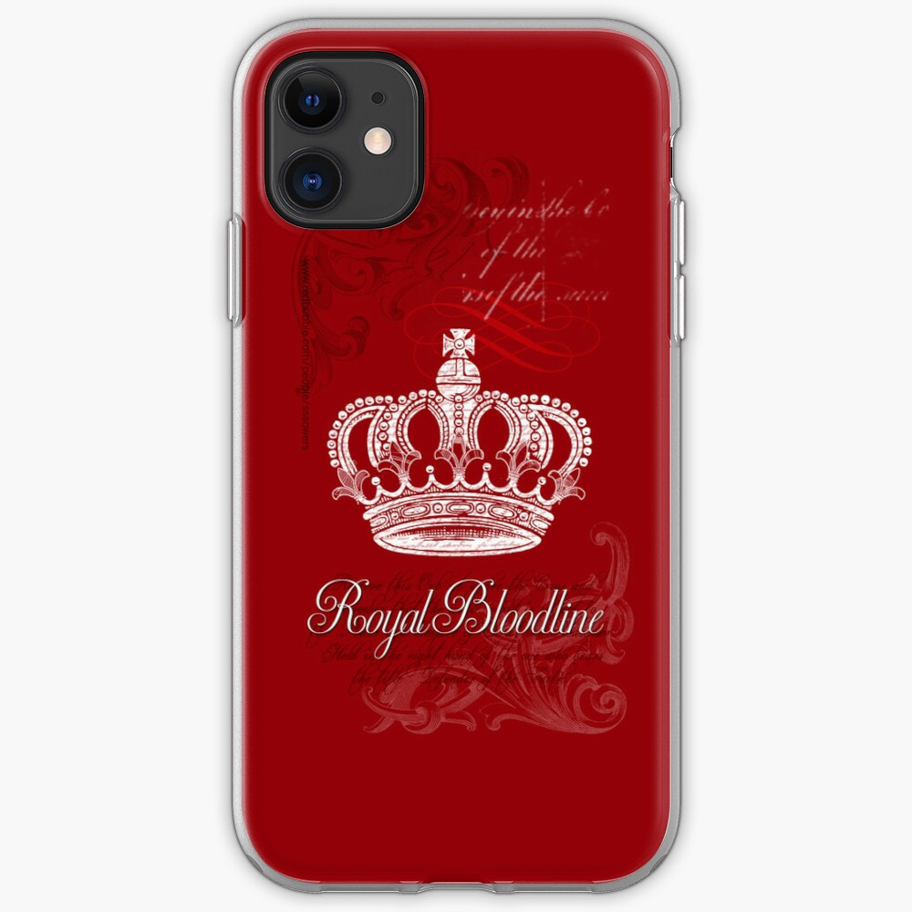 Royal Bloodline Red iPhone Case & Cover