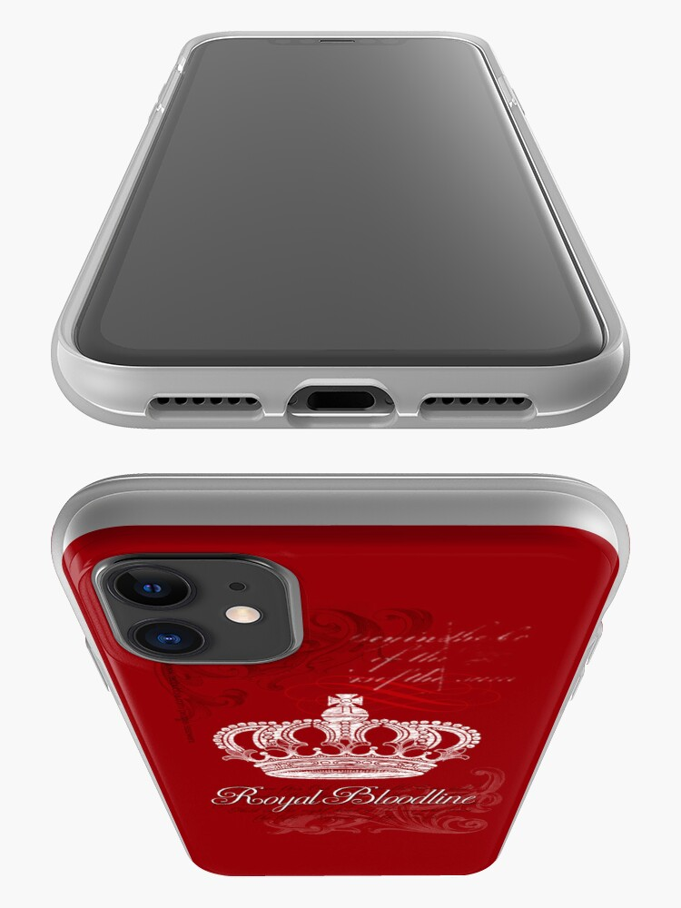 Alternate view of Royal Bloodline Red iPhone Case & Cover