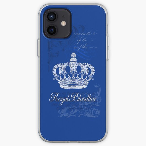 Royal Bloodline Blue iPhone Soft Case