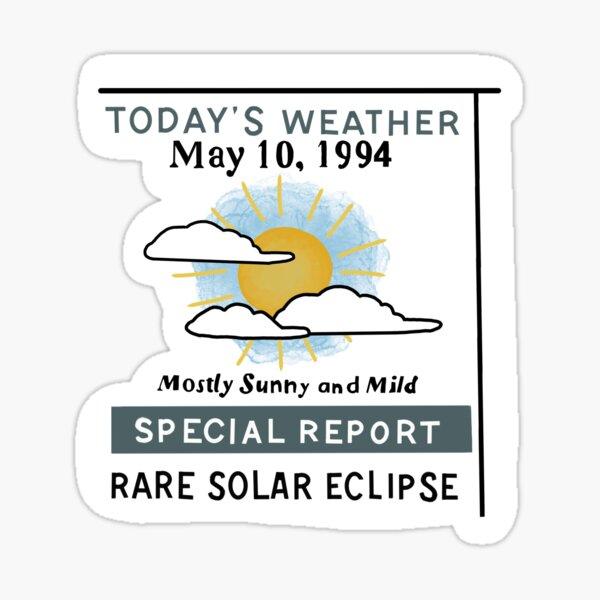 may 10, 1994 Sticker
