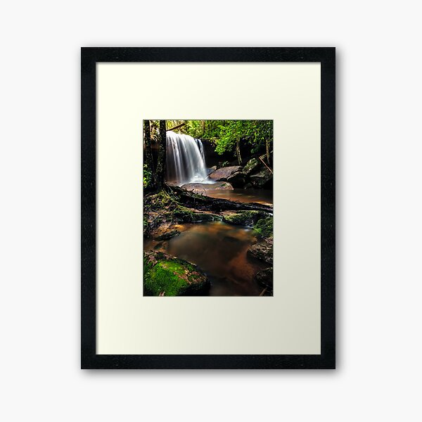 Untidy Forest Framed Art Print