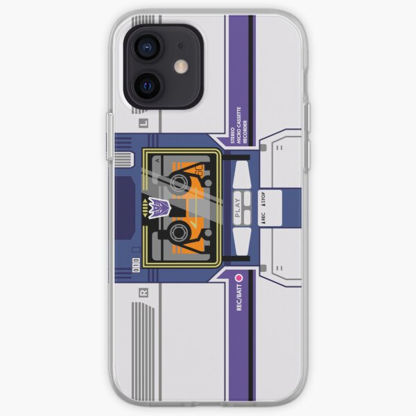 Soundwave iPhone Soft Case