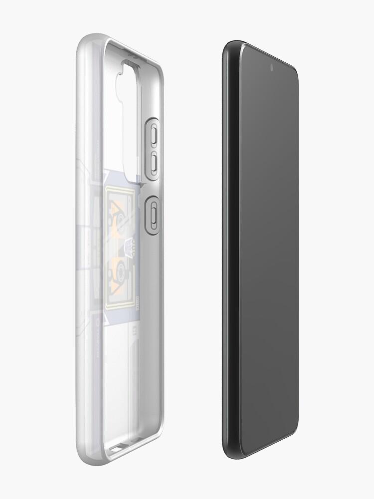 Alternate view of Soundwave Case & Skin for Samsung Galaxy