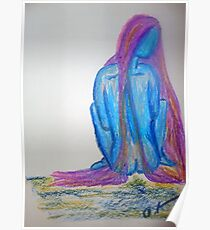 Priestess of the Sin Called Blue Poster