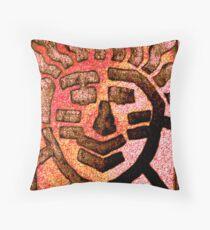 Happy Hiawatha Throw Pillow
