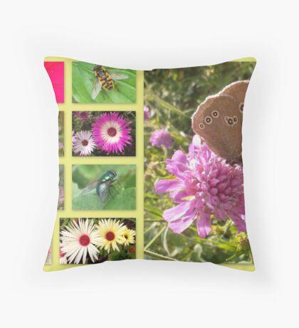 Flora and fauna in Bavaria Throw Pillow