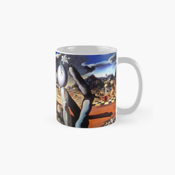 Salvador Dali Metamorphosis of Narcissus 1937 Artwork for Wall Art, Prints, Posters, Tshirts, Men, Women, Kids Classic Mug