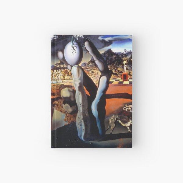 Salvador Dali Metamorphosis of Narcissus 1937 Artwork for Wall Art, Prints, Posters, Tshirts, Men, Women, Kids Hardcover Journal