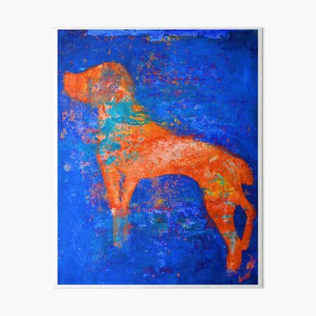 Abstract Spaniel Dog Art Board Print