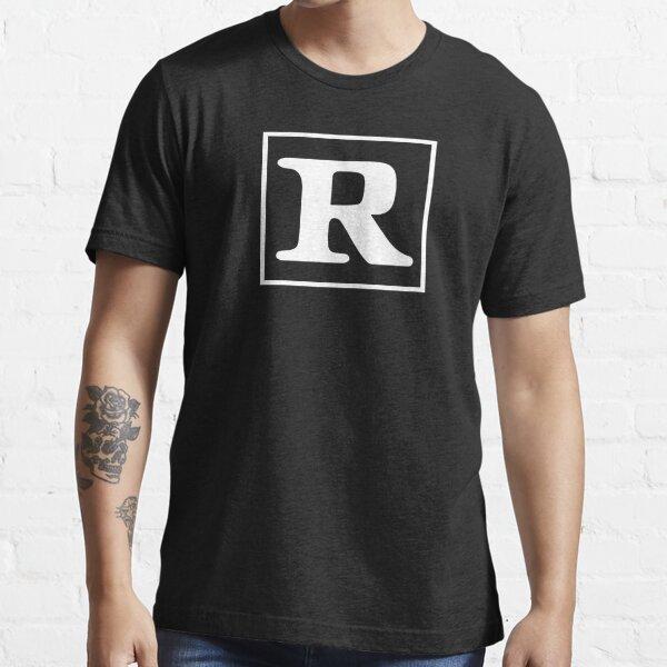R clasificado Camiseta esencial