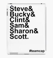 Team Captain iPad Case/Skin
