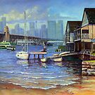 Lavender Bay Boathouse, Sydney Harbour by marshstudio
