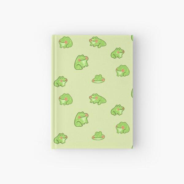 Happy little frogs Hardcover Journal