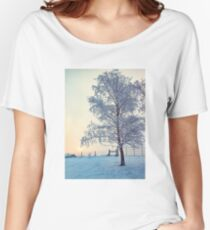 Northern Ireland Farm Sunset Women's Relaxed Fit T-Shirt