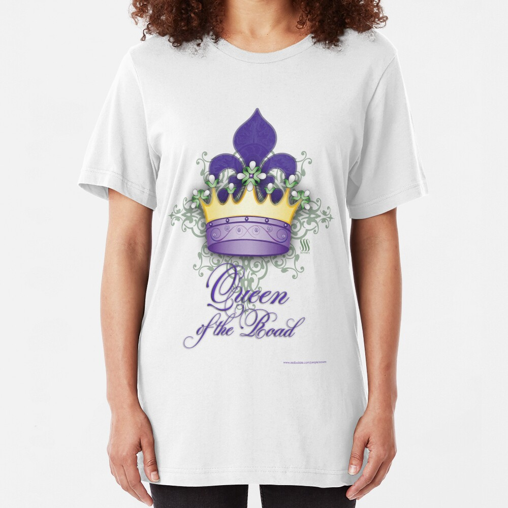 Queen of the Road Slim Fit T-Shirt