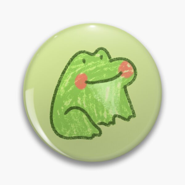 Happy little frog Pin