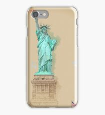Statue of Liberty in New York City iPhone Case/Skin