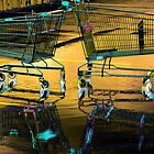 Dance of the water trollies by Peter Krause