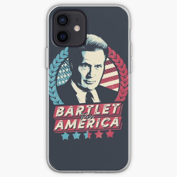 Bartlet for America  iPhone Soft Case