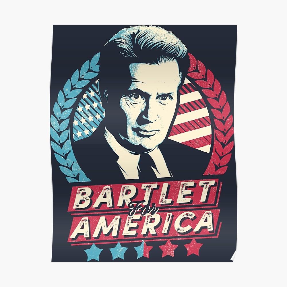 Bartlet für Amerika Poster