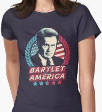 Bartlet für Amerika Tailliertes T-Shirt für Frauen