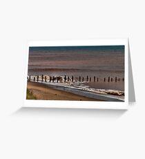 North Sea Defence Greeting Card
