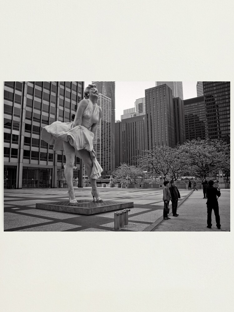 Alternate view of Windy City - Chicago Photographic Print