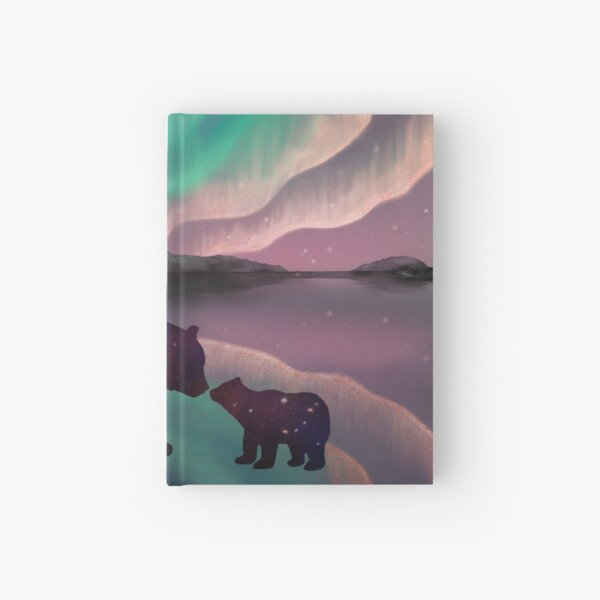 Aurora Bearealis Hardcover Journal