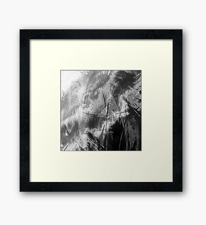 Abstract_110712 Framed Print