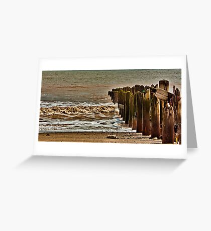 Worn and Weathered Greeting Card