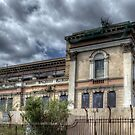 Derelict Crumlin Road Courthouse  by Victoria limerick