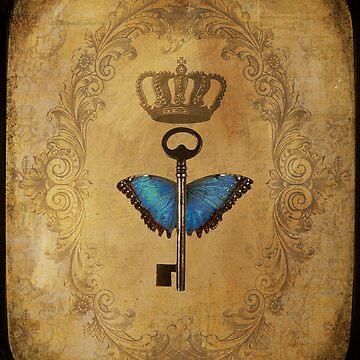 Locks & Butterfly Keys 2 by CalicoCollage