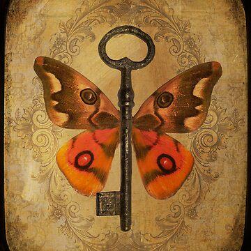 Locks & Butterfly Keys 5 by CalicoCollage