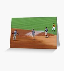 An Evening At The Game ~ Part One Greeting Card