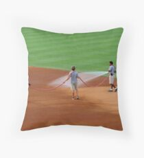 An Evening At The Game ~ Part One Throw Pillow