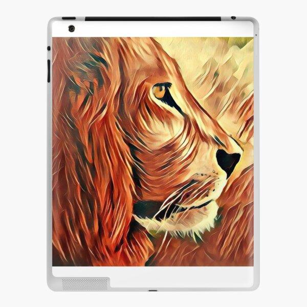 Lion King of Beasts iPad Skin