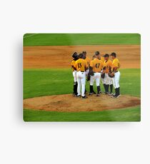 An Evening At The Game ~ Part Three Metal Print
