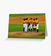 An Evening At The Game ~ Part Three Greeting Card
