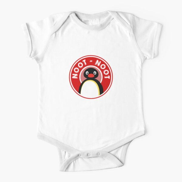 Pingu / Noot Noot logo (Pingu le pingouin) Body manches courtes