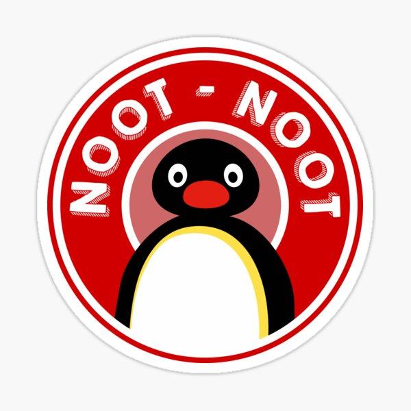 Pingu / Noot Noot logo (Pingu le pingouin) Sticker