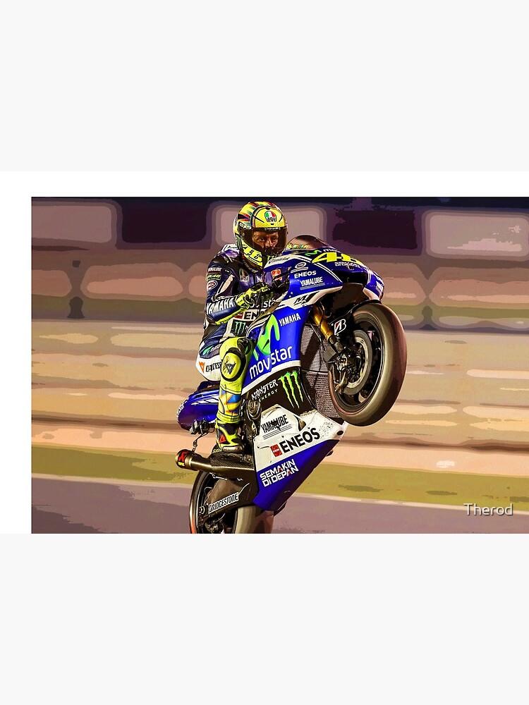 «Valentino Rossi fait un wheelie 3 Résumé» par Therod