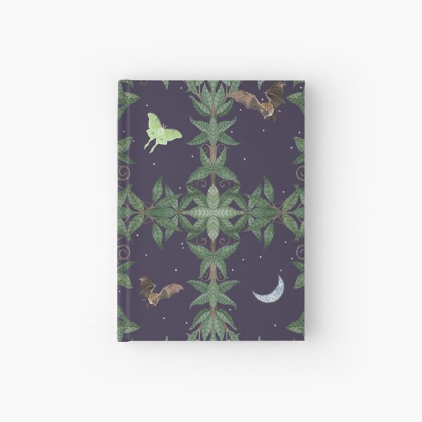 Of Moth and Bat Hardcover Journal