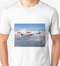 Final Vulcan Flight With The Red Arrows  - 3 Unisex T-Shirt