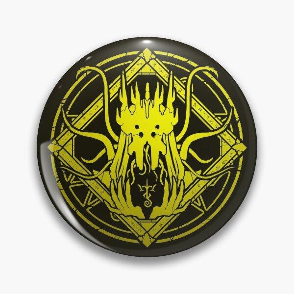 The King in Yellow - Hastur - Circle design Pin