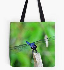 Slaty Skimmer Dragonfly Tote Bag